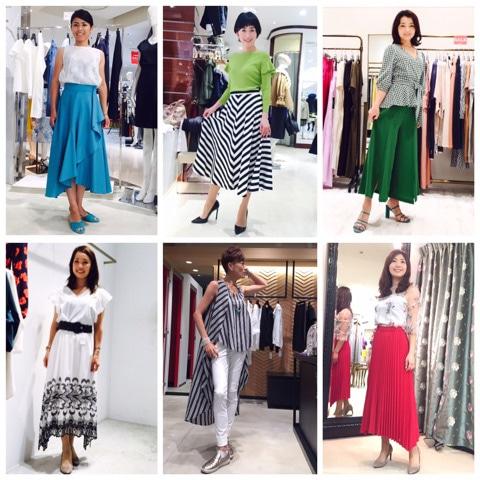 オンラインショッピング同行の感想 ファッションアドバイザー 奥真弓(おくまゆみ)